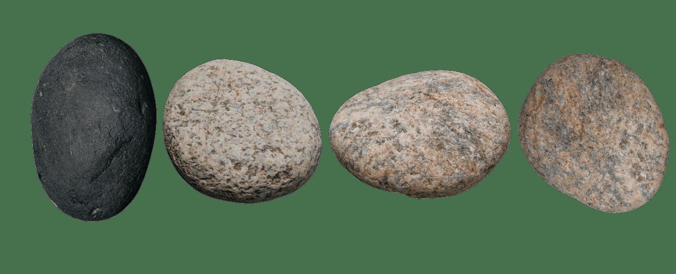 cropped rocks